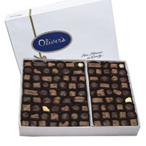 Oliver's Assorted Chocolates in a Gift Box 1/2 lb. - 5 lb.