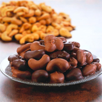 Chocolate Covered Cashews 1 lb. Box